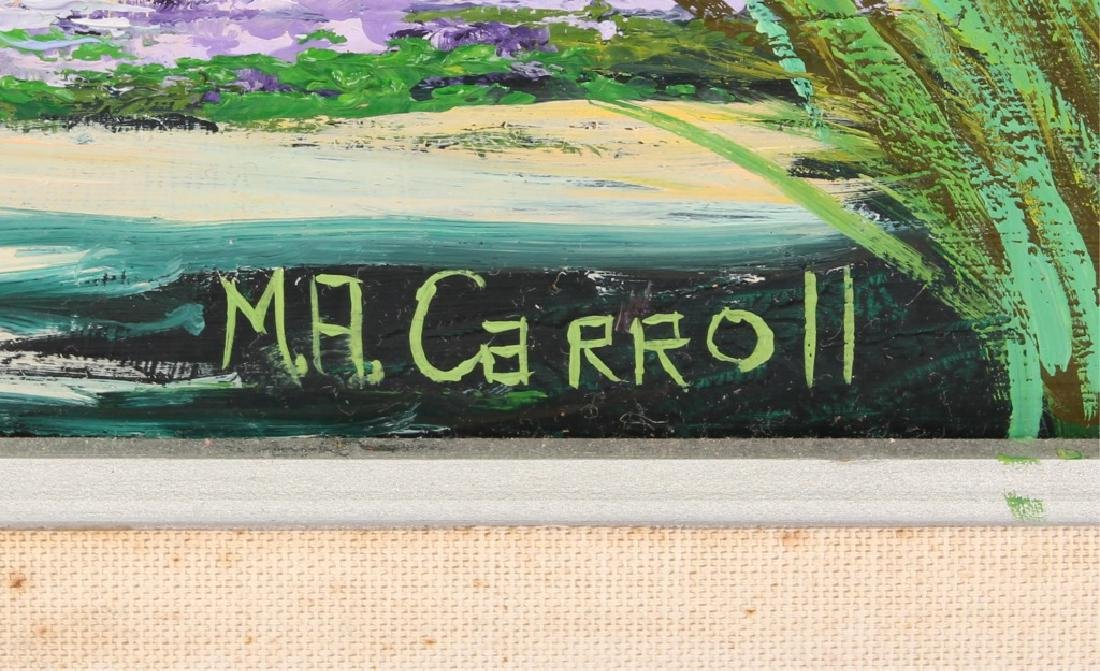 M.A. CARROLL FLORDA HIGHWAYMEN LANDSCAPE OIL - 3
