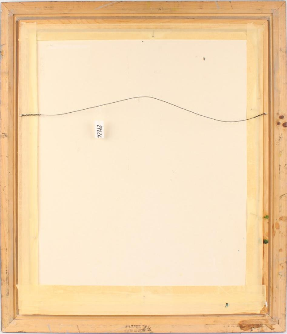 M.A. CARROLL FLORDA HIGHWAYMEN LANDSCAPE OIL - 4