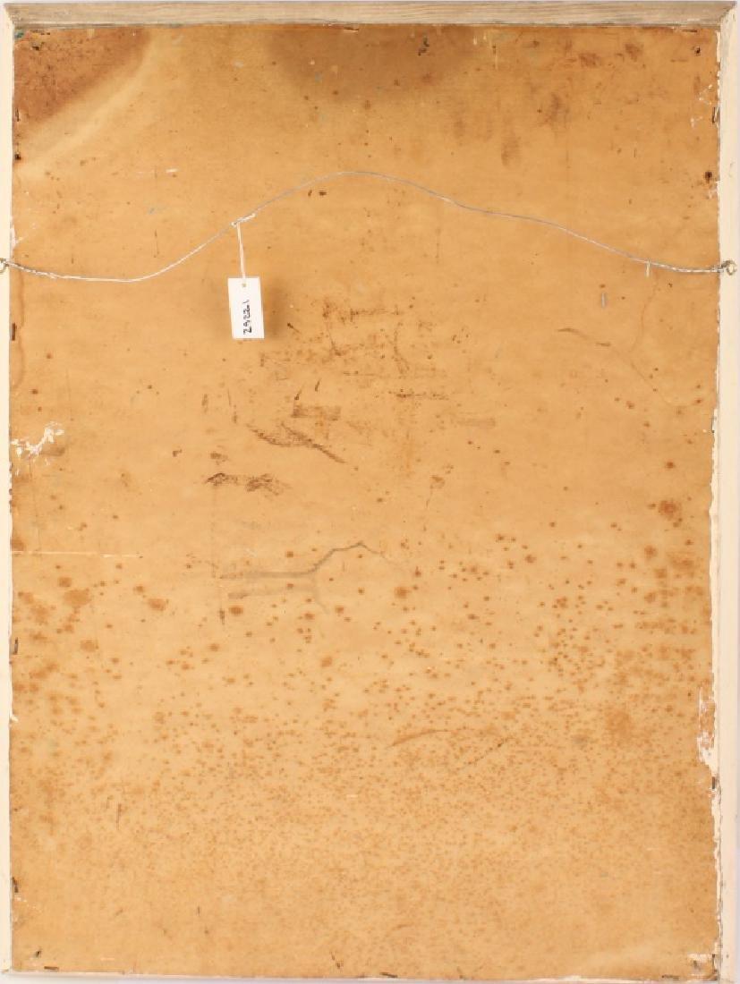 MARY ANN CARROLL FLORIDA HIGHWAYMEN OIL ON BOARD - 6