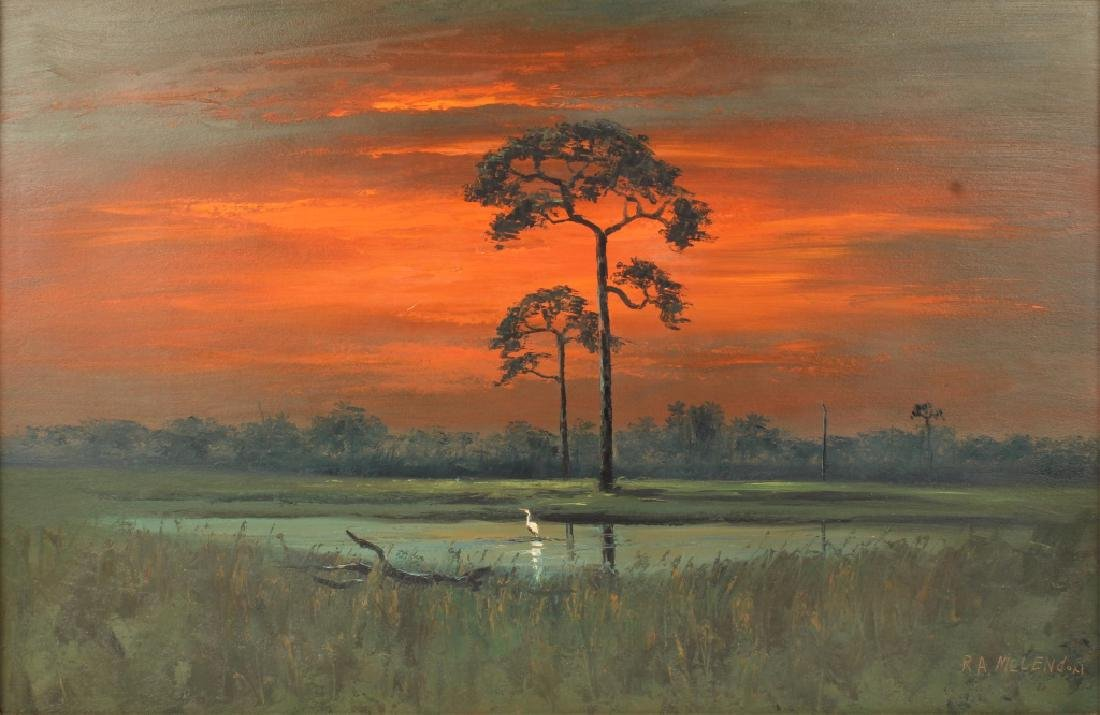 ROY MCLENDON FLORIDA HIGHWAYMEN BACKWATER SUNSET - 2