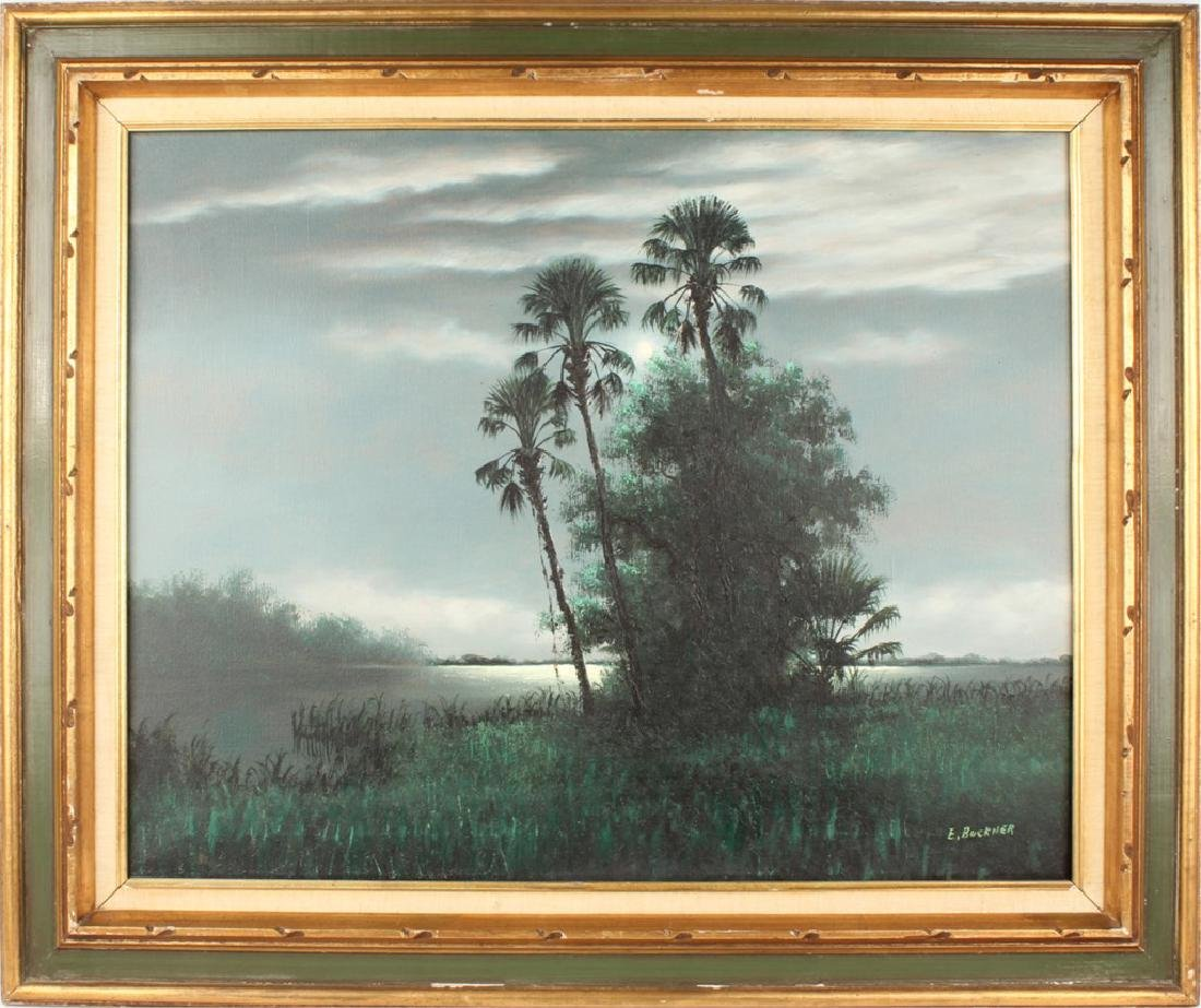 ELLIS BUCKNER FLORIDA HIGHWAYMEN NIGHT LANDSCAPE
