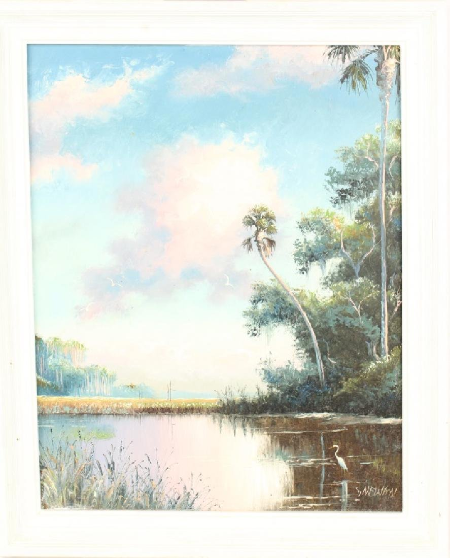 SAM NEWTON FLORIDA HIGHWAYMEN OIL LANDSCAPE