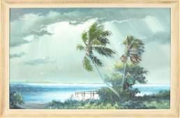 SAM NEWTON FLORIDA HIGHWAYMEN DOCKSIDE PALM OIL