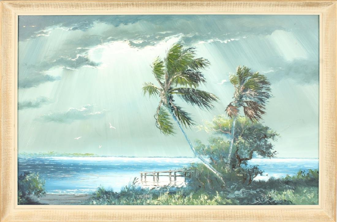 SAM NEWTON FLORIDA HIGHWAYMEN DOCKSIDE PALM OIL