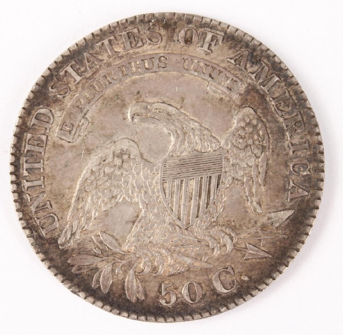 1829 UNITED STATES CAPPED BUST SILVER HALF DOLLAR - 2