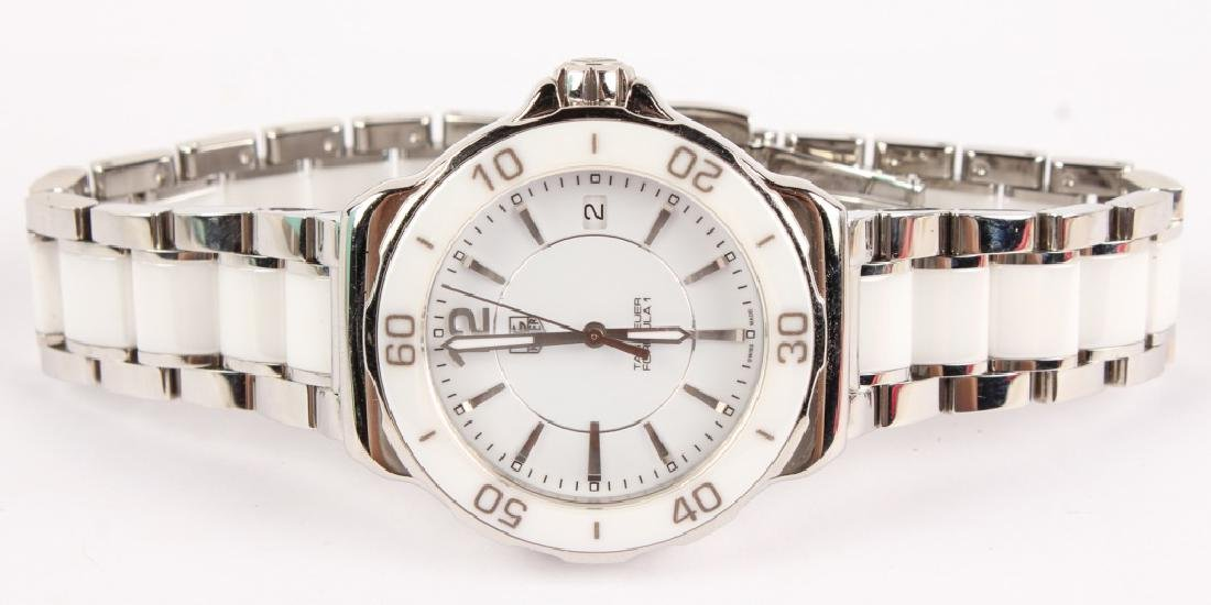 LADIES TAG HEUER FORMULA ONE CERAMIC WATCH