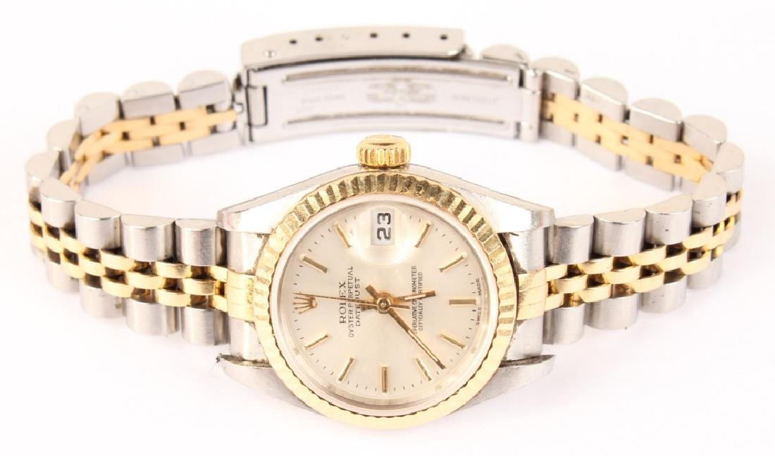 LADIES ROLEX DATEJUST JUBILEE GOLD AND STAINLESS