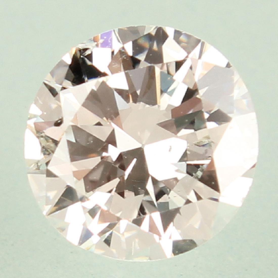 ROUND BRILLIANT CUT 2.00 CARAT GIA H SI2 DIAMOND