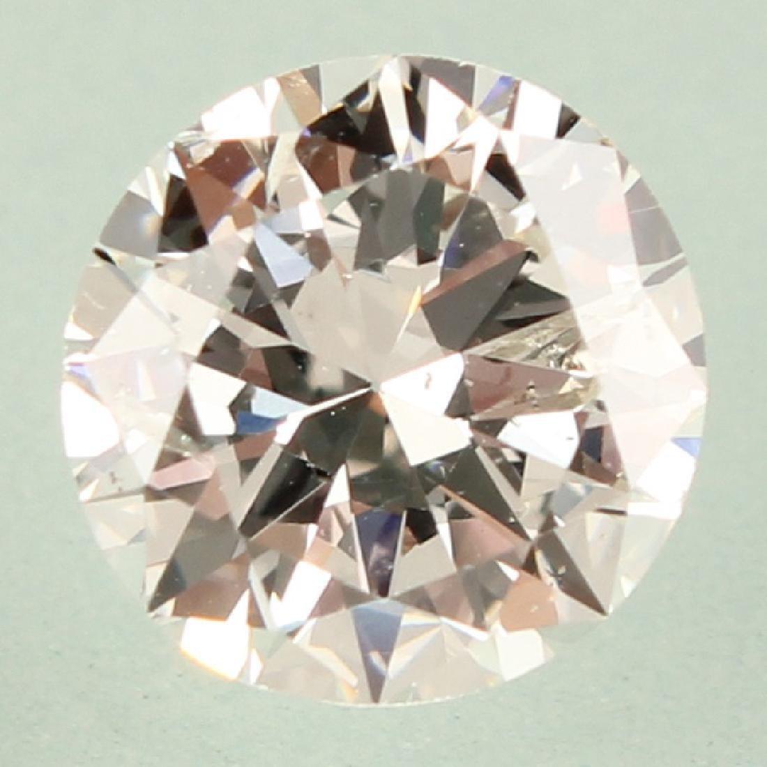 ROUND BRILLIANT CUT 2.00 CARAT GIA H SI2 DIAMOND - 2