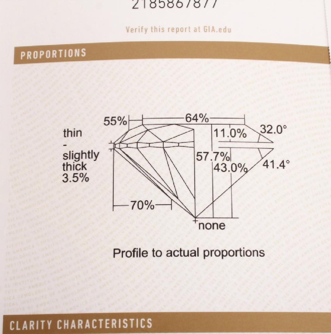 ROUND BRILLIANT CUT 2.00 CARAT GIA H SI2 DIAMOND - 6