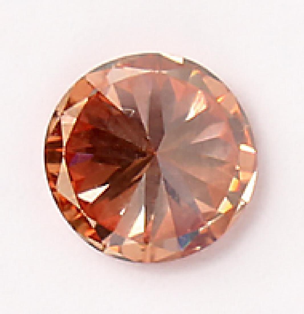 GIA CERTIFIED .91 CARAT VS2 FANCY PINK DIAMOND - 4