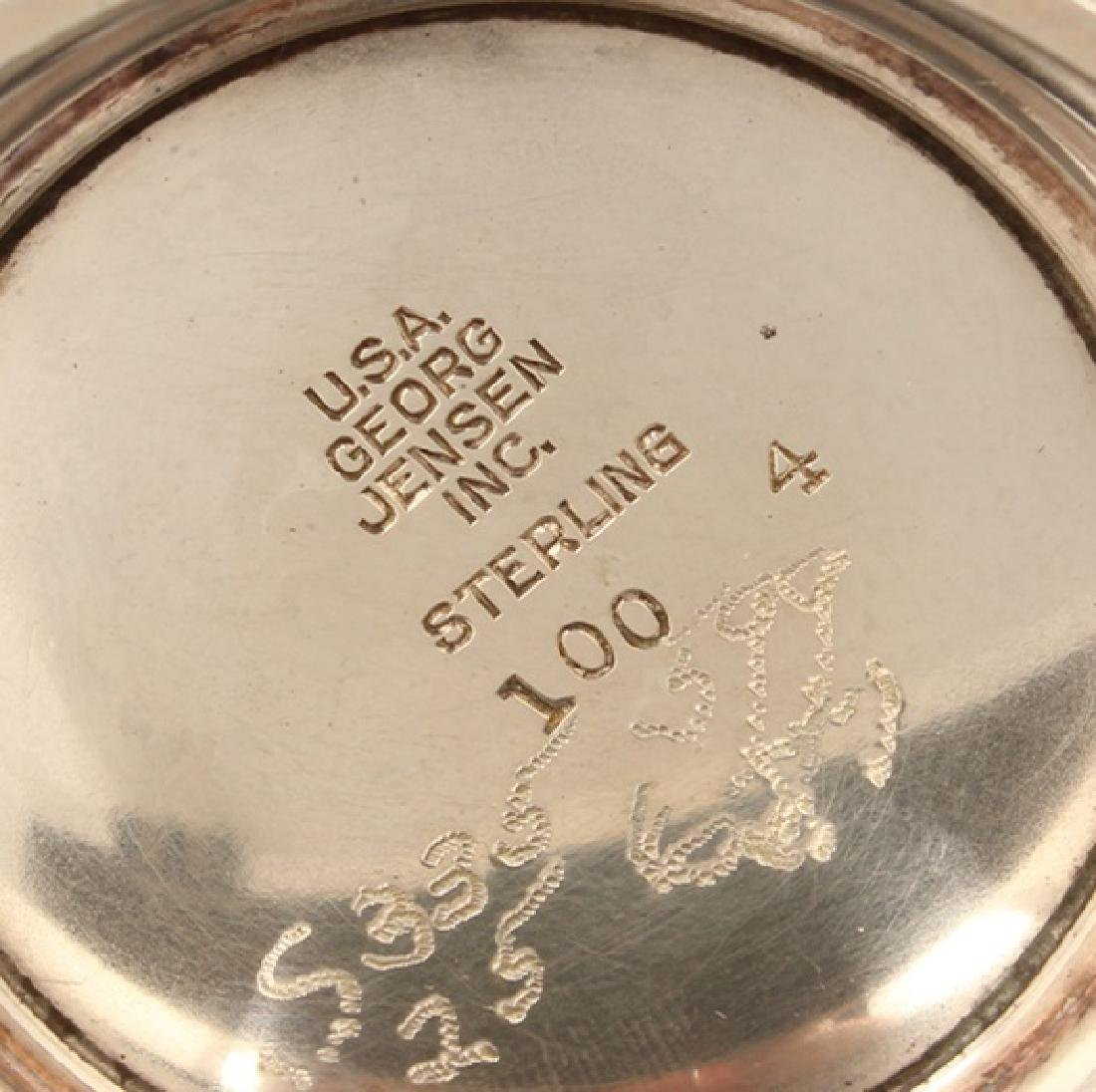 STERLING SILVER GEORG JENSEN INC. REVERE BOWL U.S.A. - 3