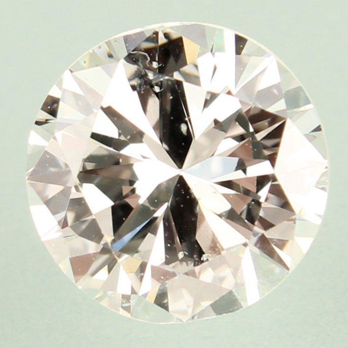 ROUND BRILLIANT CUT 2.01 CARAT GIA I SI1 DIAMOND