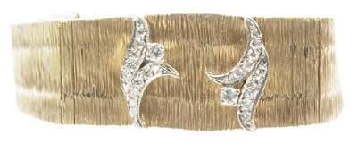 14K YELLOW GOLD CACHET LADIES WRISTWATCH