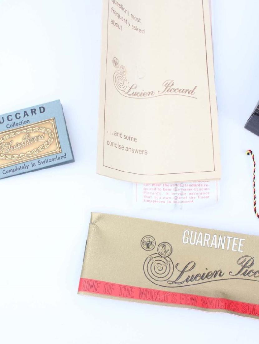 GENTLEMEN`S LUCIEN PICCARD LUCCARD WRISTWATCH NOS - 4