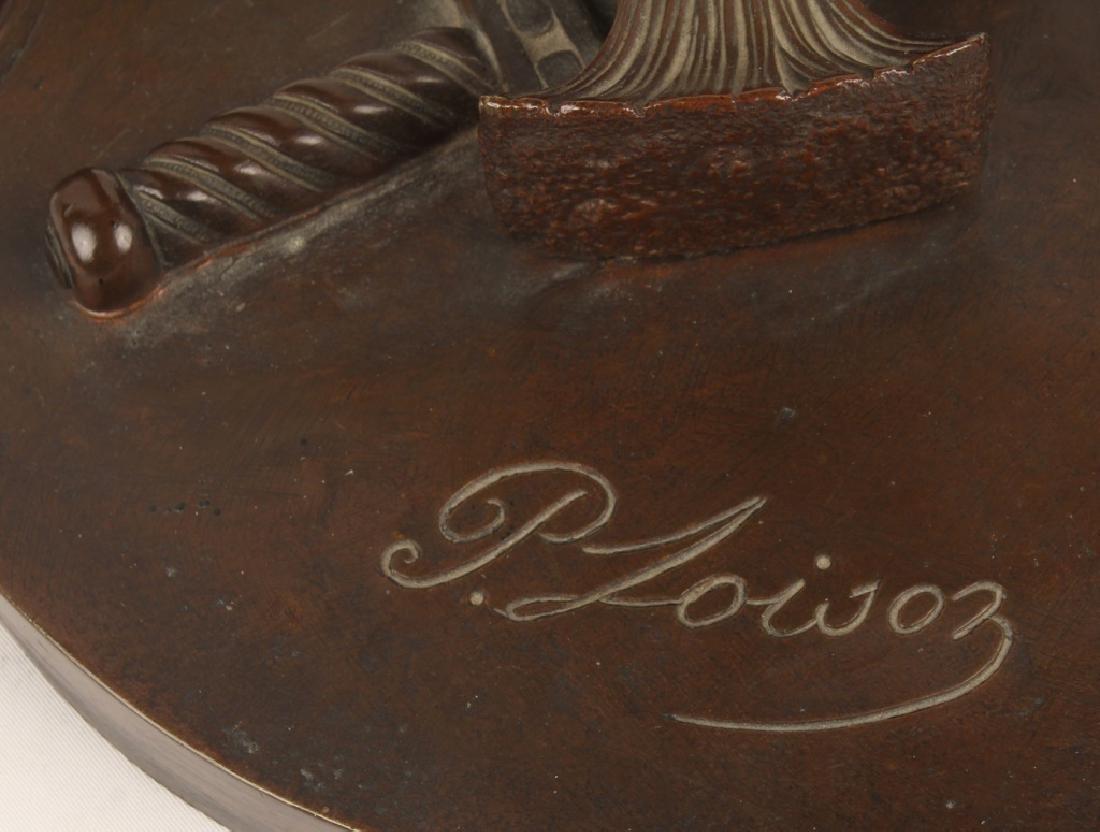 PIERRE LOISON JEUNE ROMAIN ENLEVANT SABINE BRONZE - 9