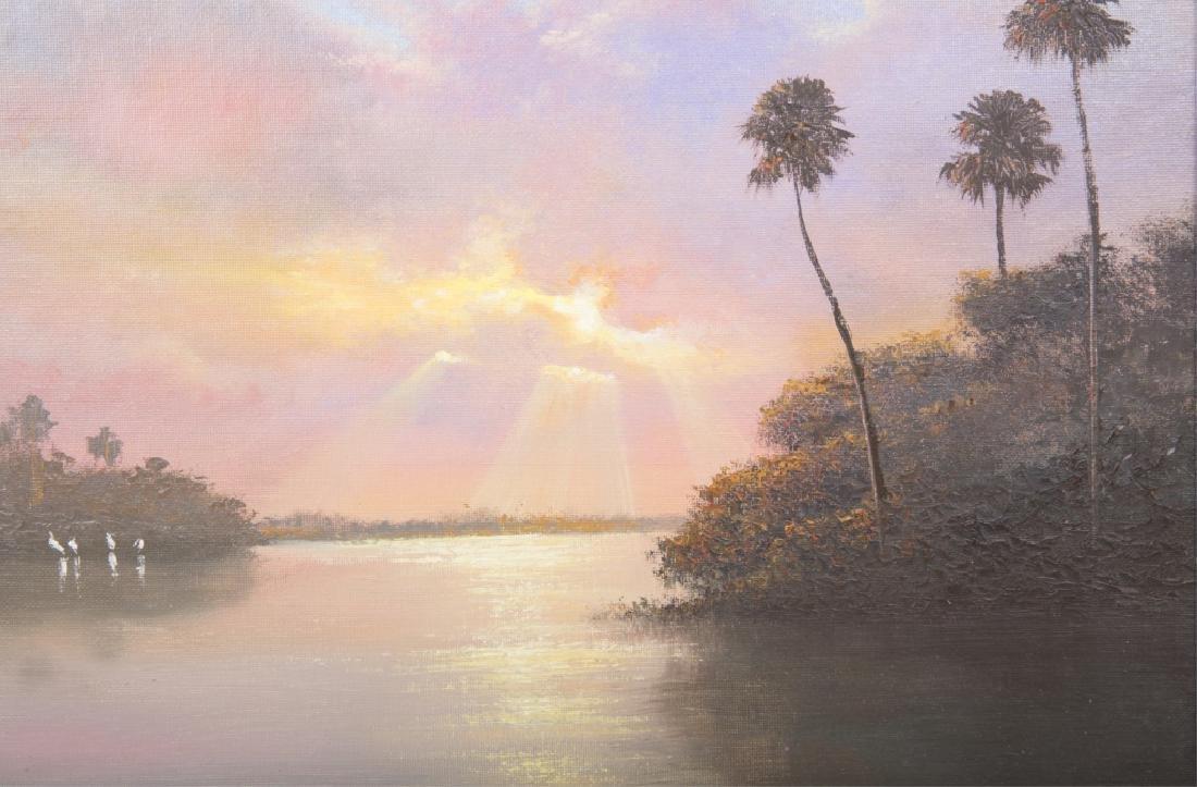AHMED ELTEMTAMY FLORIDA SUNSET WETLAND OIL - 2