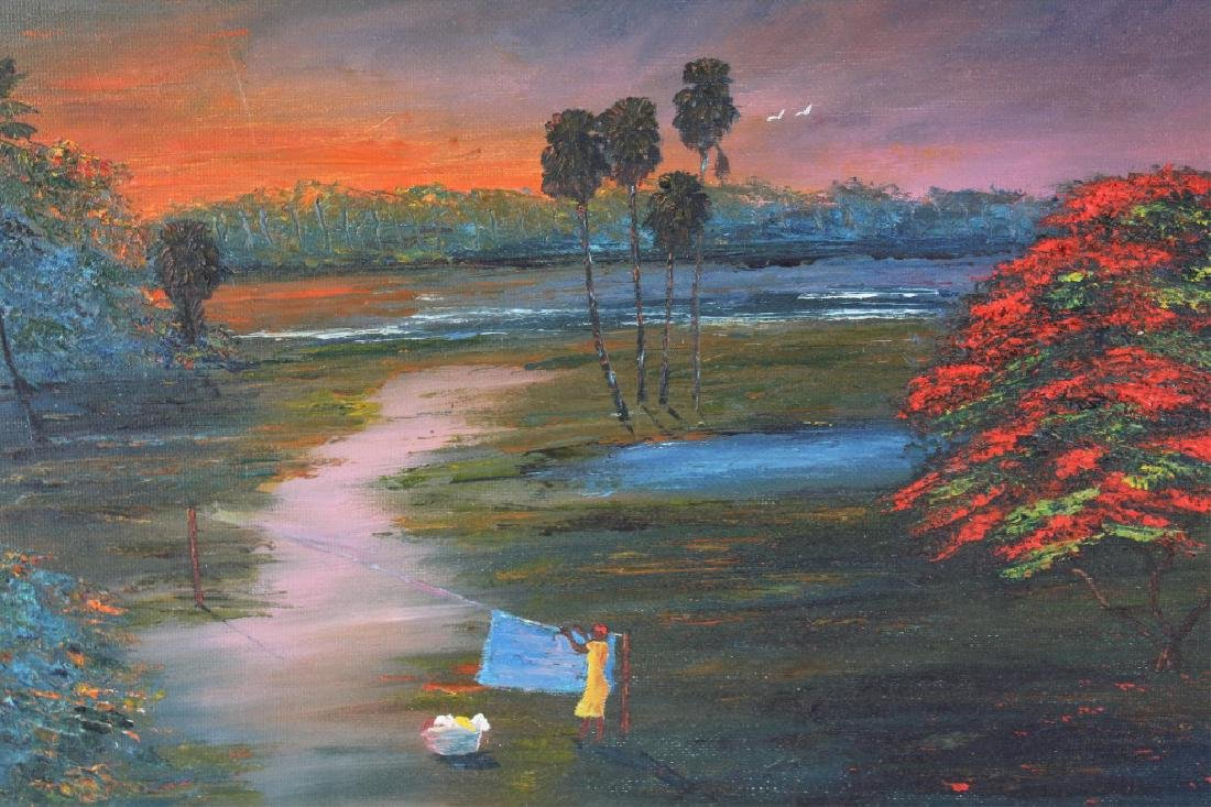 CHICO WHEELER FLORIDA HIGHWAYMEN SUNSET OIL - 2