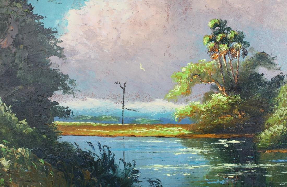 SAM NEWTON FLORIDA HIGHWAYMEN ST. LUCIE RIVER OIL - 2