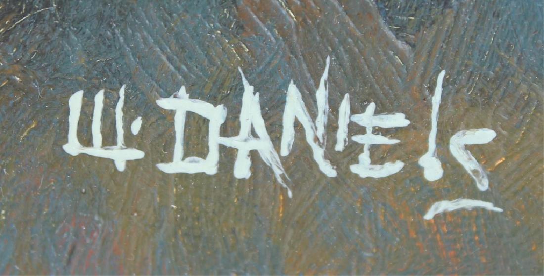 WILLIE DANIELS HIGHWAYMEN SUNSET WETLAND OIL - 3
