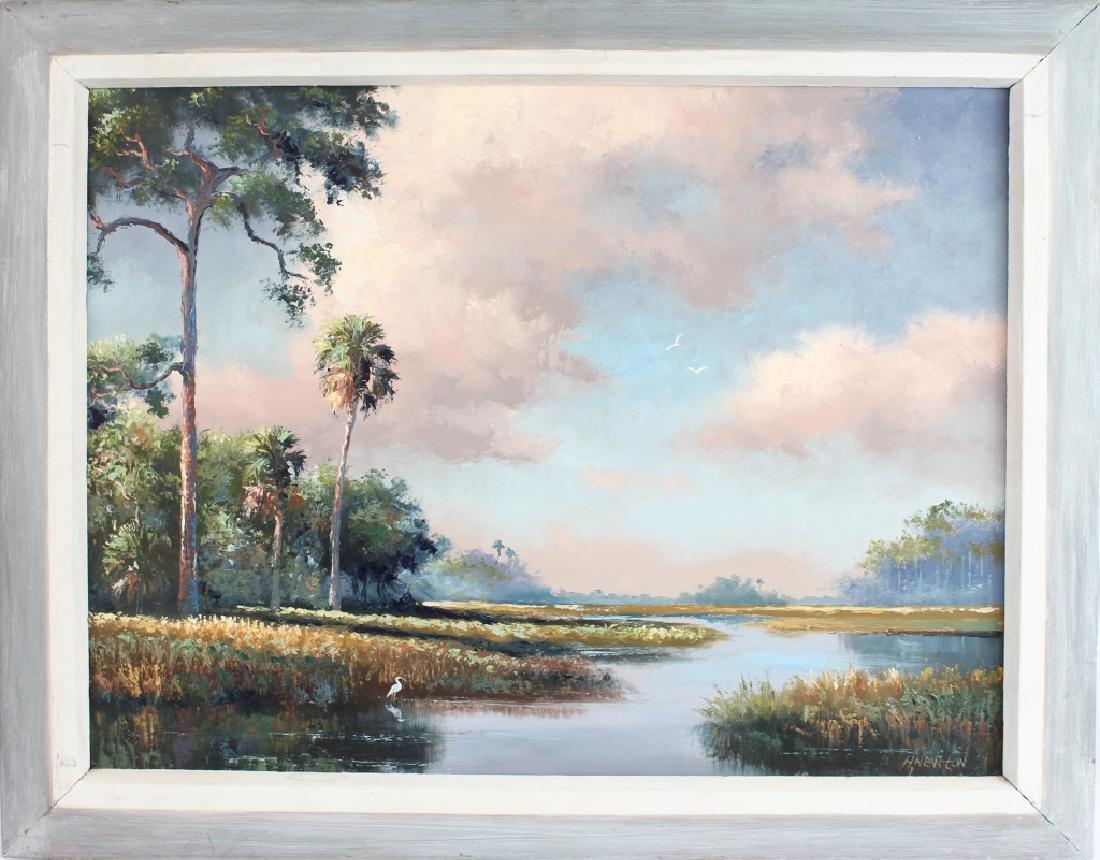 HAROLD NEWTON FLORIDA HIGHWAYMEN MARSH LANDSCAPE