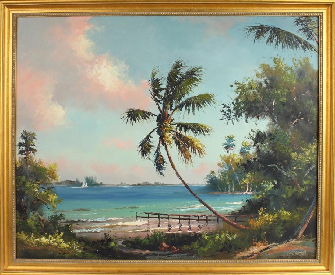 HAROLD NEWTON FLORIDA HIGHWAYMEN DOCKSIDE INLET