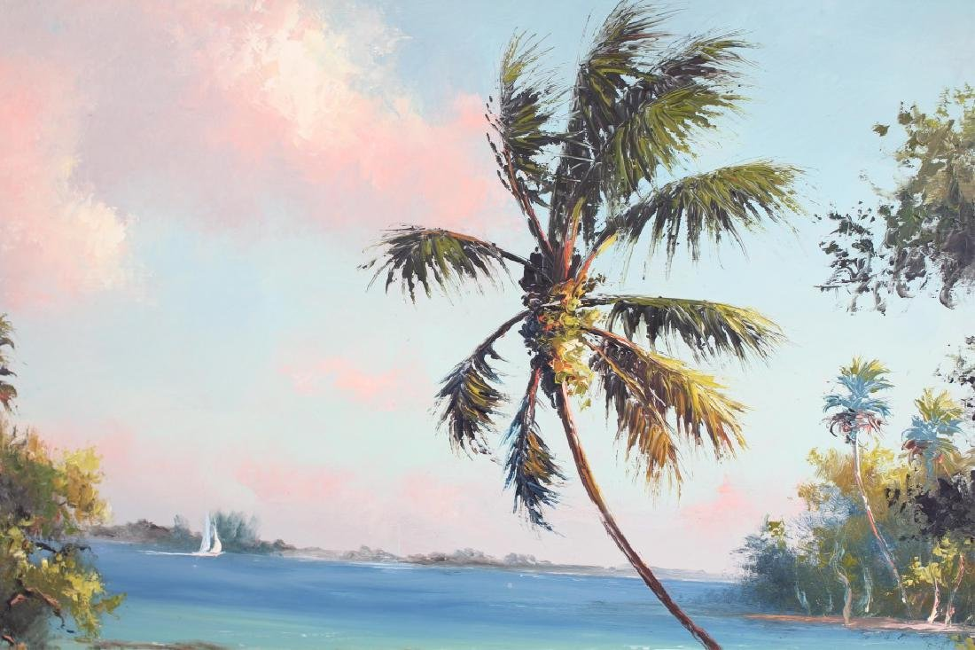 HAROLD NEWTON FLORIDA HIGHWAYMEN DOCKSIDE INLET - 2