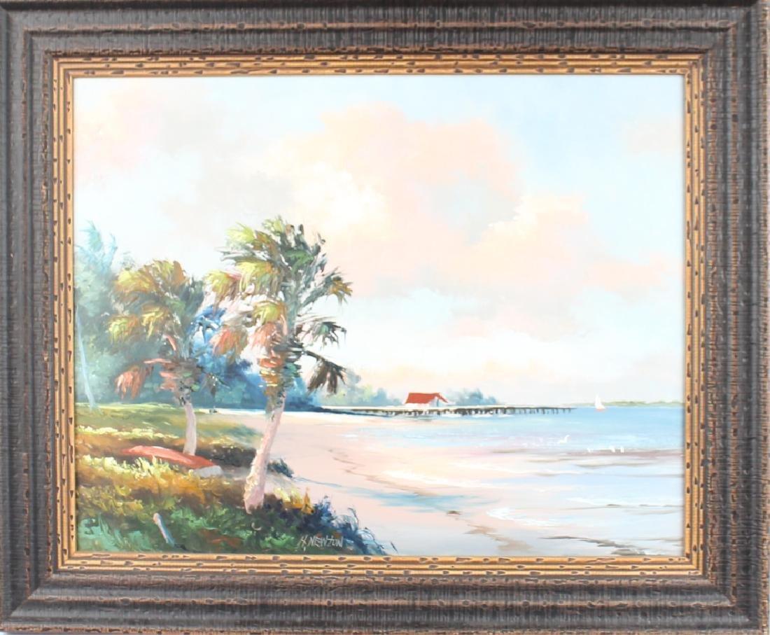 HAROLD NEWTON FLORIDA HIGHWAYMEN COASTAL BOATHOUSE