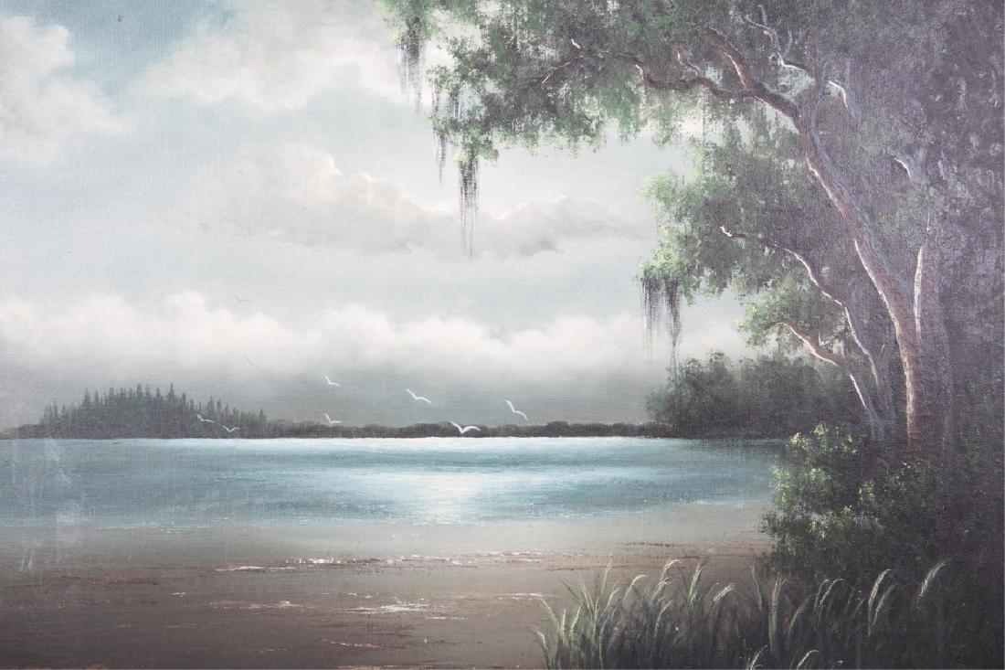 GEORGE BUCKNER FLORIDA HIGHWAYMEN OIL ON CANVAS - 2