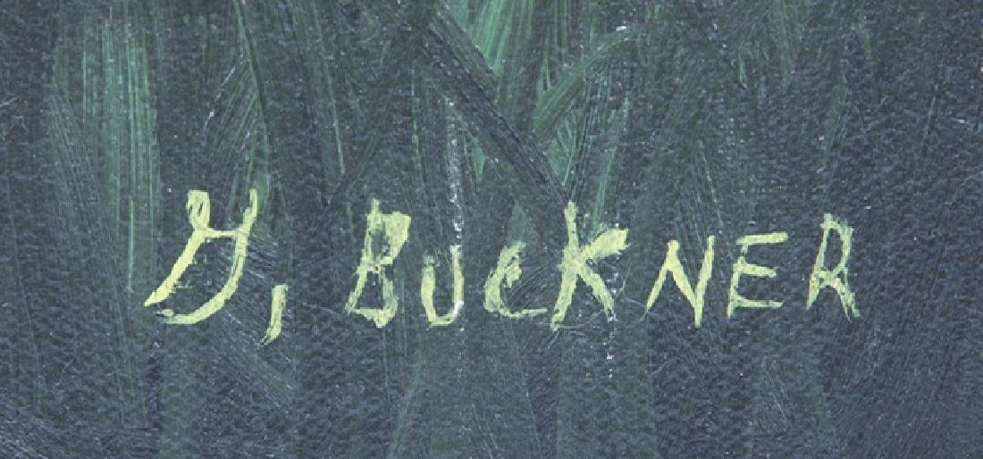 GEORGE BUCKNER FLORIDA HIGHWAYMEN OIL ON CANVAS - 3