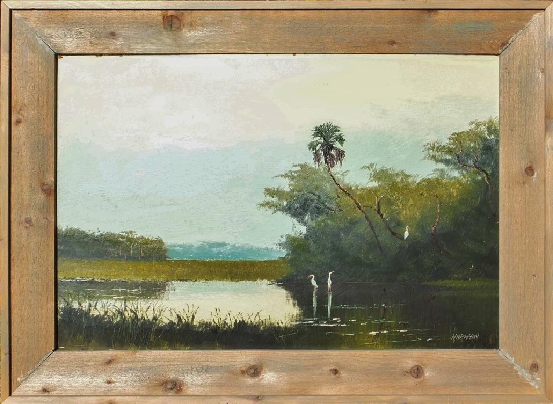 HAROLD NEWTON FLORIDA HIGHWAYMEN OIL LANDSCAPE