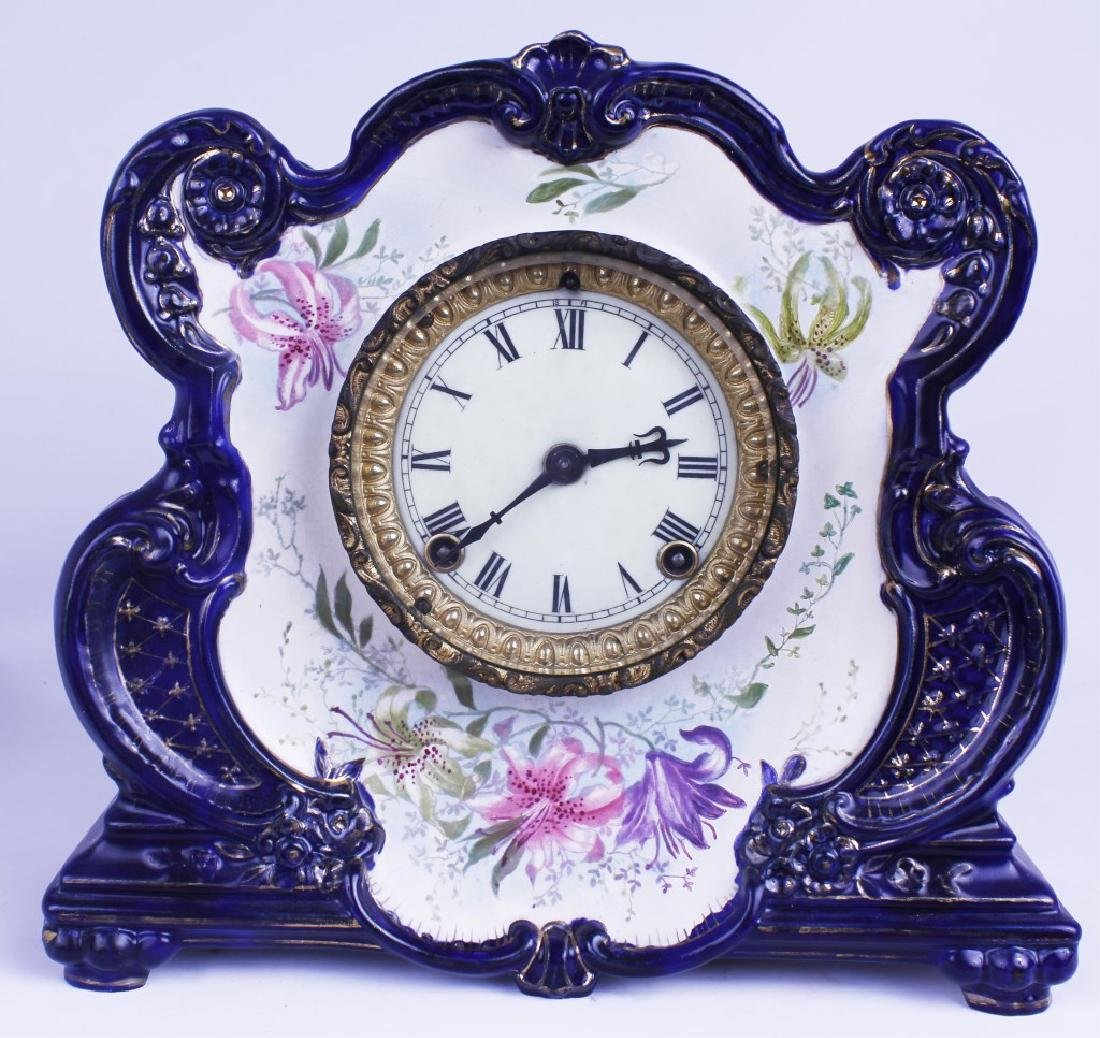 "ANSONIA MANTLE CLOCK ""CRYSTAL PALACE"""
