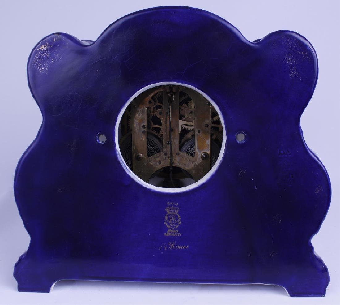 "ANSONIA MANTLE CLOCK ""CRYSTAL PALACE"" - 2"