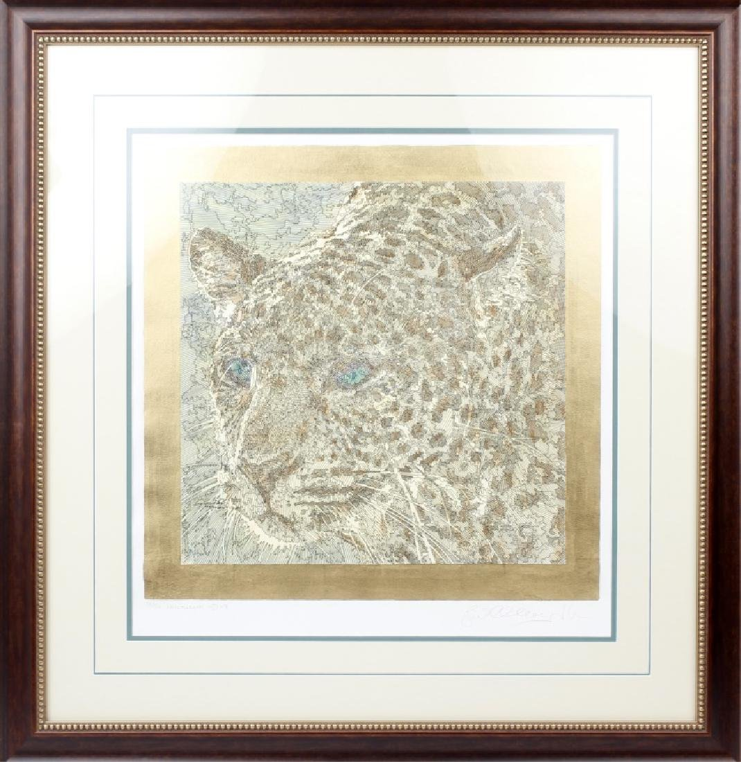 GUILLAUME AZOULAY ETCHING TITLED NOCTURN