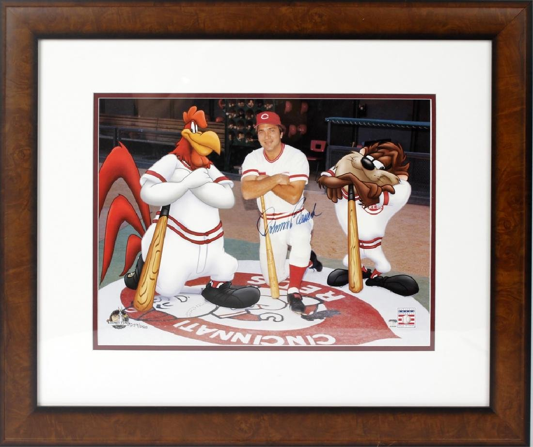 JOHNNY BENCH SERIOLITHOGRAPH