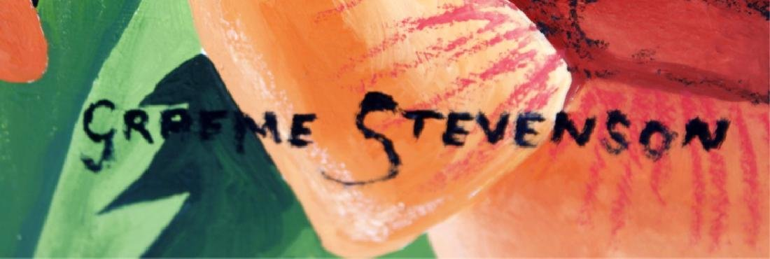 GRAEME STEVENSON ORIGINAL ON BOARD TIGER THINK - 3