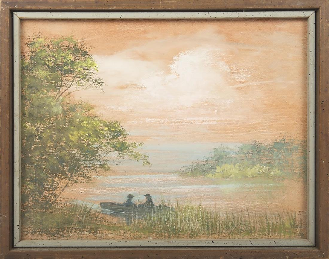 VW GALBRAITH FLORIDA WETLAND LANDSCAPE PAINTING