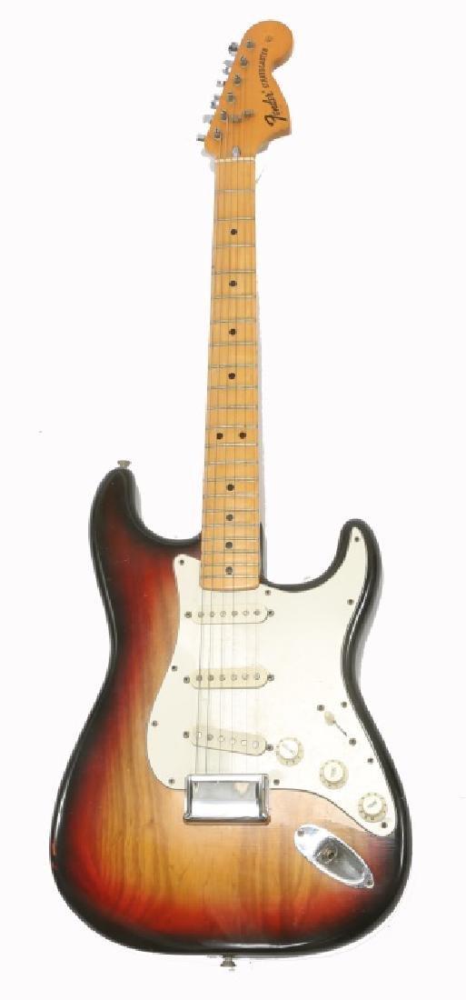 1976 FENDER STRATOCASTER SUNBURST ELECTRIC GUITAR - 2