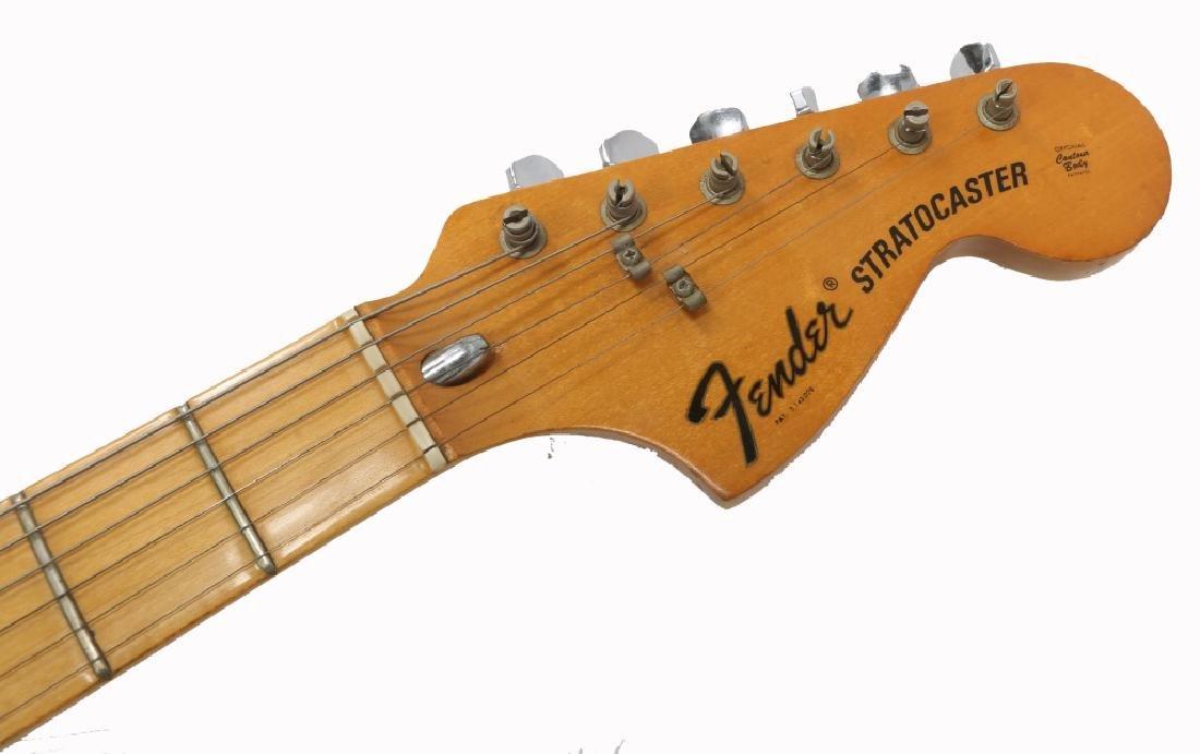 1976 FENDER STRATOCASTER SUNBURST ELECTRIC GUITAR - 4