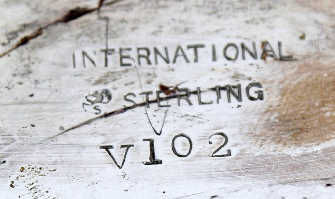 INTERNATIONAL STERLING SILVER CENTERPIECE BOWL - 3