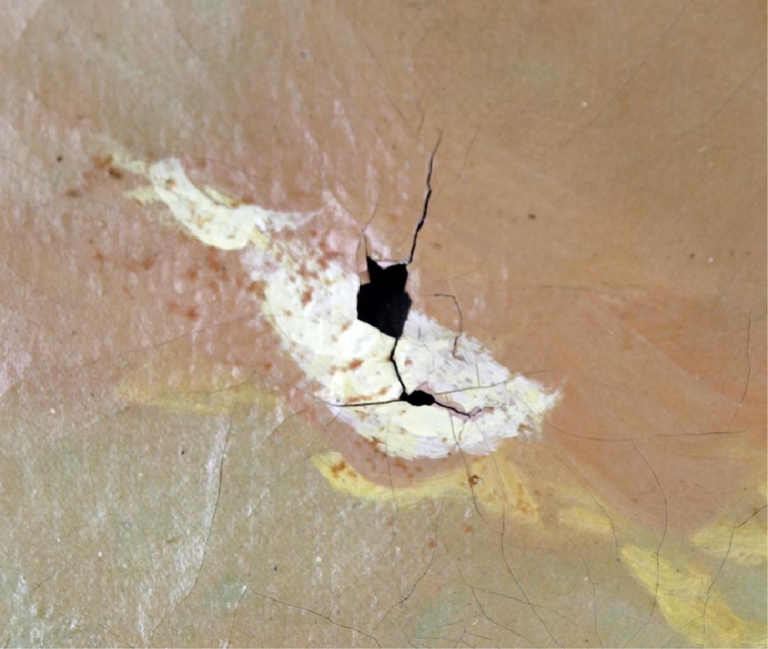 SIGNED ARTHUR MEADOWS LANDSCAPE OIL ON CANVAS - 3