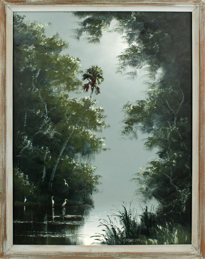 HAROLD NEWTON FLORIDA HIGHWAYMEN ST. LUCIE RIVER