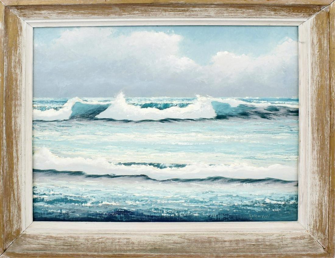 HAROLD NEWTON FLORIDA HIGHWAYMEN SEASCAPE