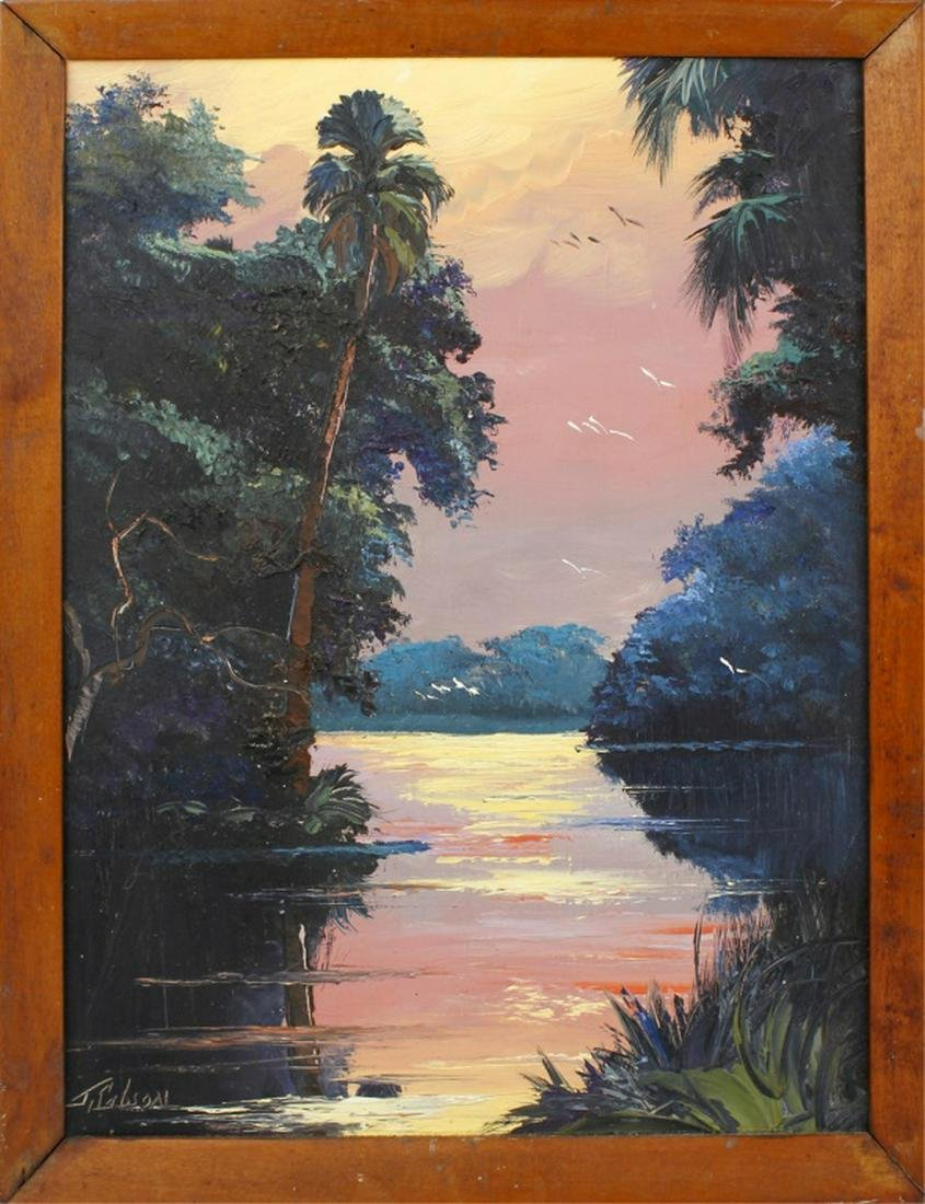 JAMES GIBSON FLORIDA HIGHWAYMEN ST. LUCIE RIVER
