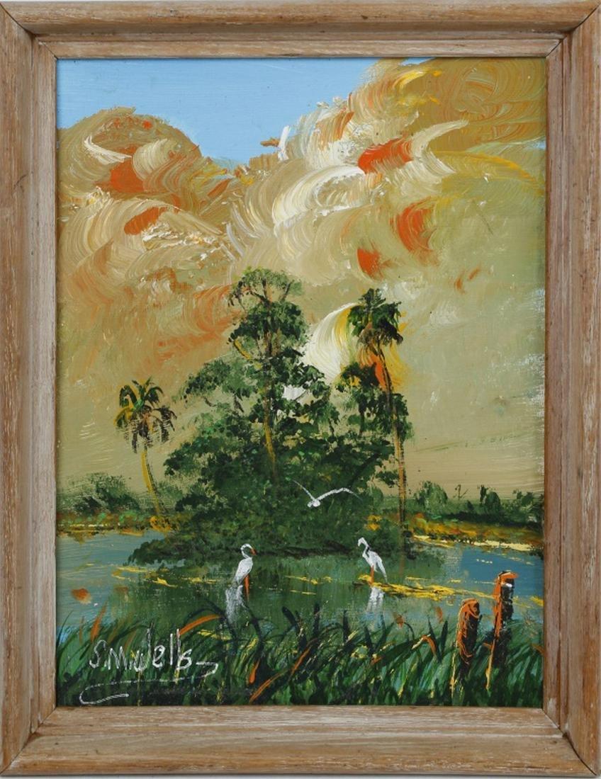 SYLVESTER WELLS FLORIDA HIGHWAYMEN PALM TREES