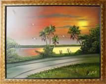 AL BLACK FLORIDA HIGHWYAMEN INDIAN RIVER BLVD.
