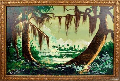 SYLVESTER WELLS FLORIDA HIGHWAYMEN WETLAND OIL