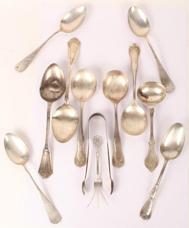 STERLING SILVER FLATWARE LOT - 451.8 GRAMS