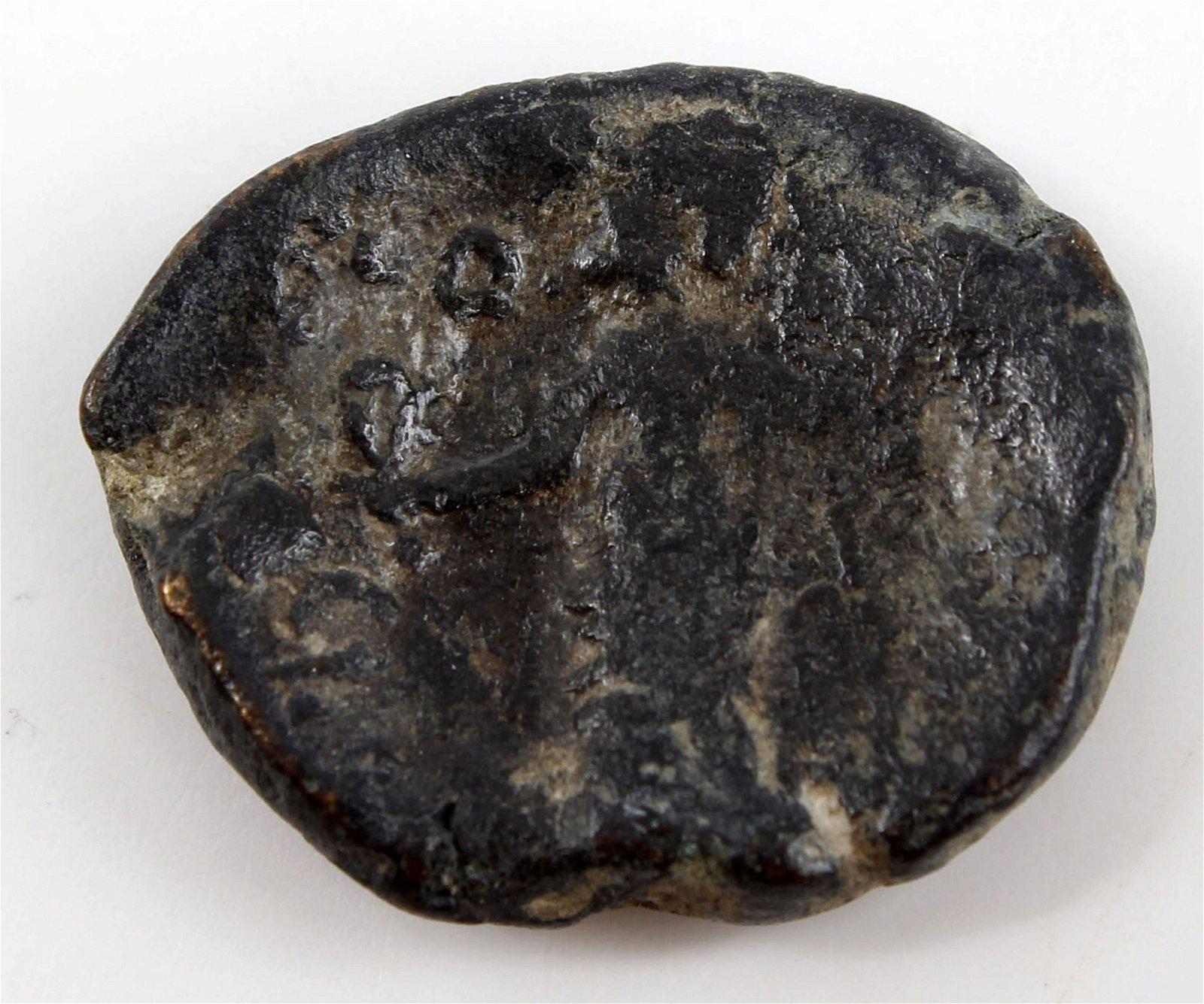 GREEK CITY ZEUS BRONZE 200-50 BC ANCIENT COIN