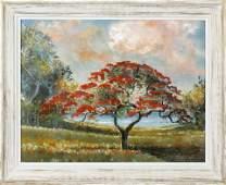SAM NEWTON FLORIDA HIGHWAYMEN ROYAL POINCIANA TREE